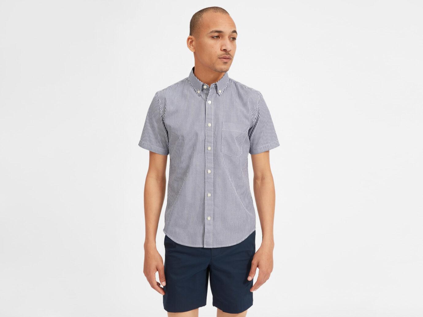 Everlane Men's Air Oxford Short-Sleeve Shirt