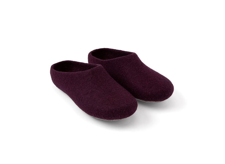 Natural Wool Slippers