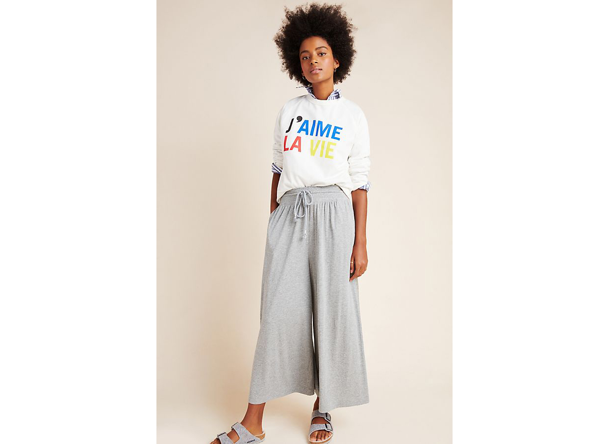Saturday/Sunday Lisa Cropped Wide-Leg Pants