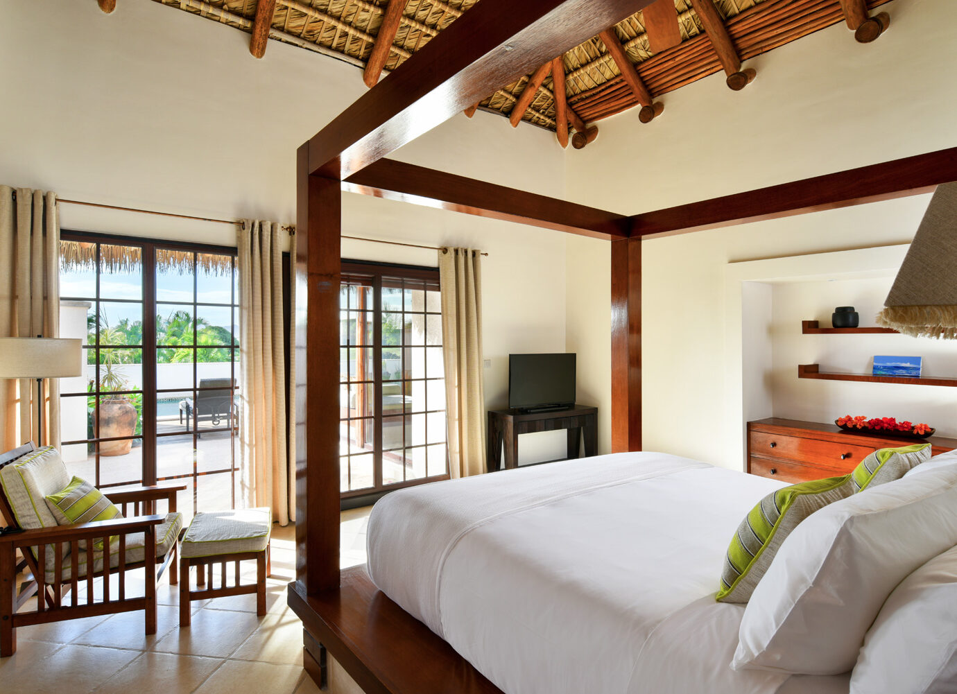 Bedroom at Paradise Beach Nevis