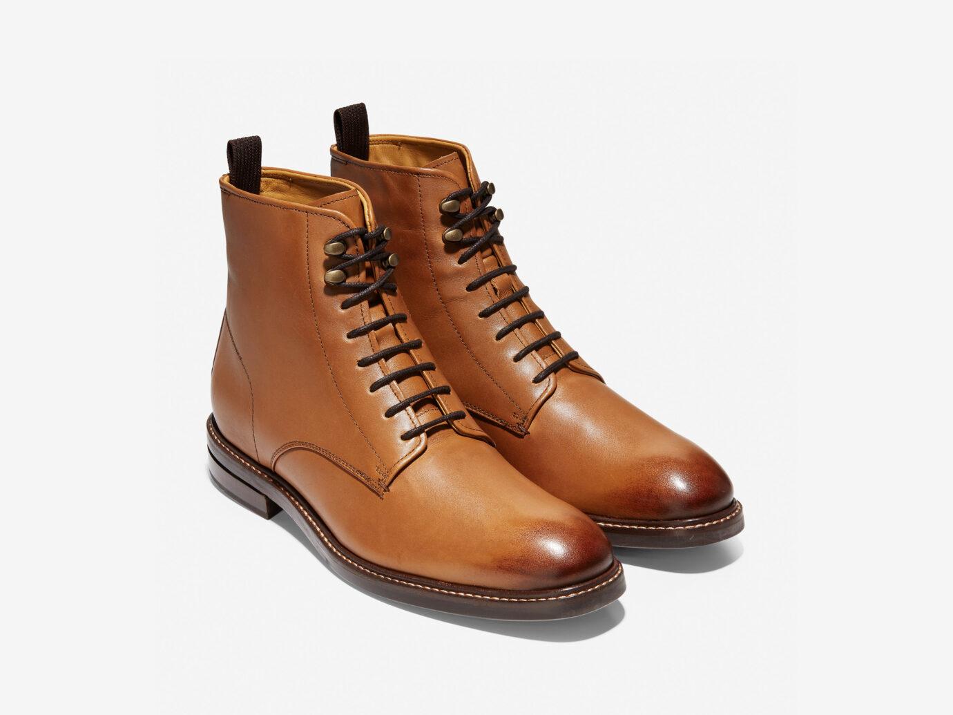 Cole Hann Wagner Grand Plain Toe Boot