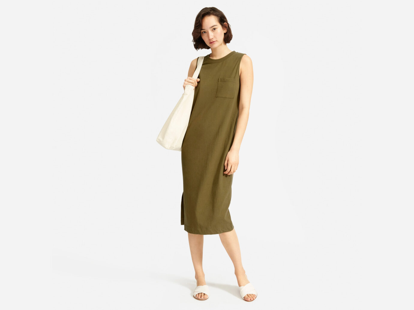 Everlane Long Weekend Tee Dress