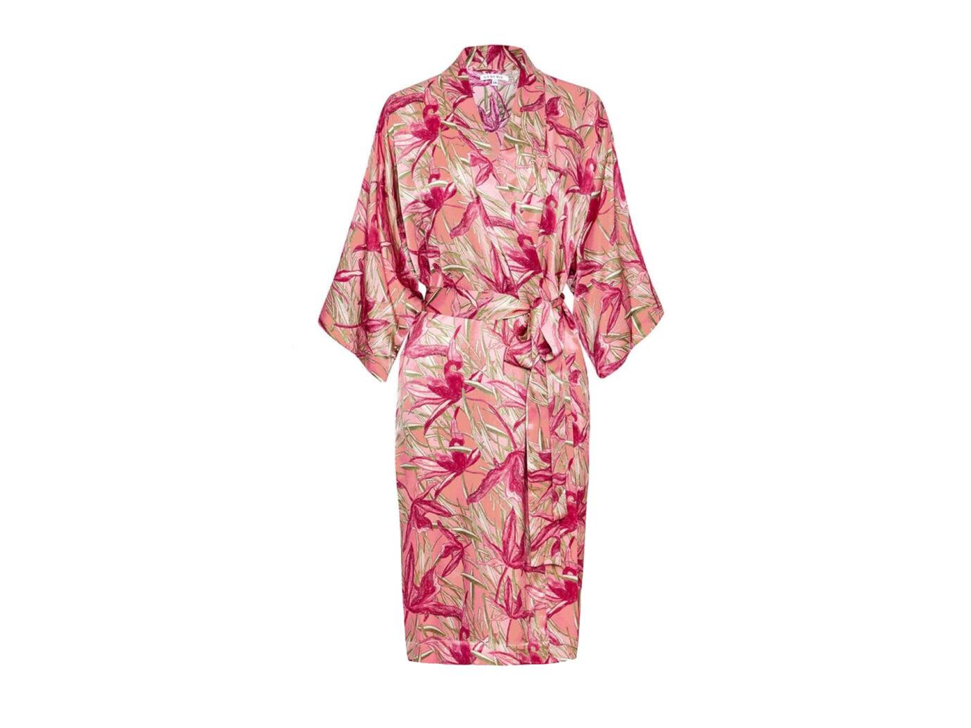 Genevie Rose Lily Kimono Robe