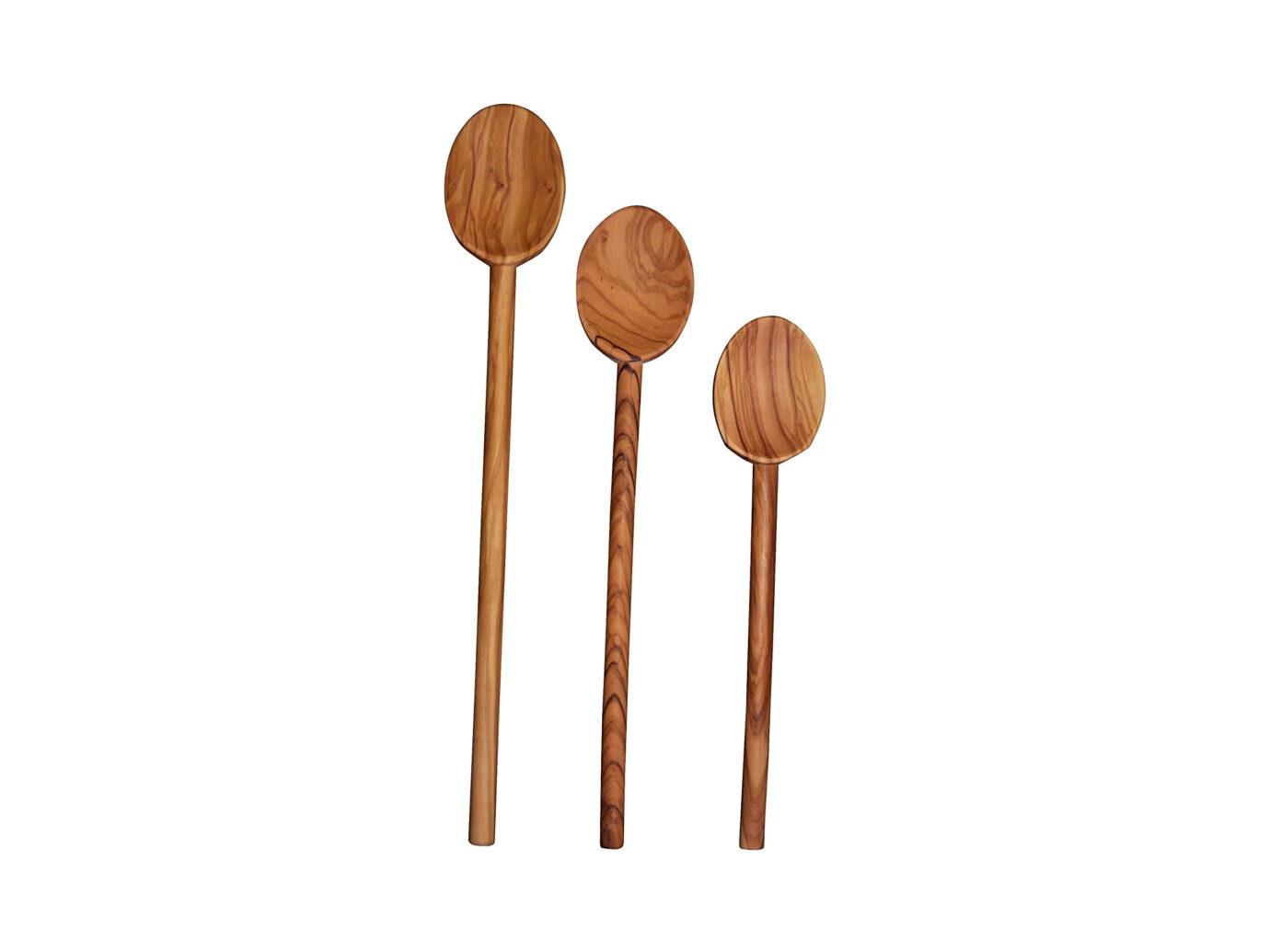 Scanwood Olive Wood Cooking Spoon Set