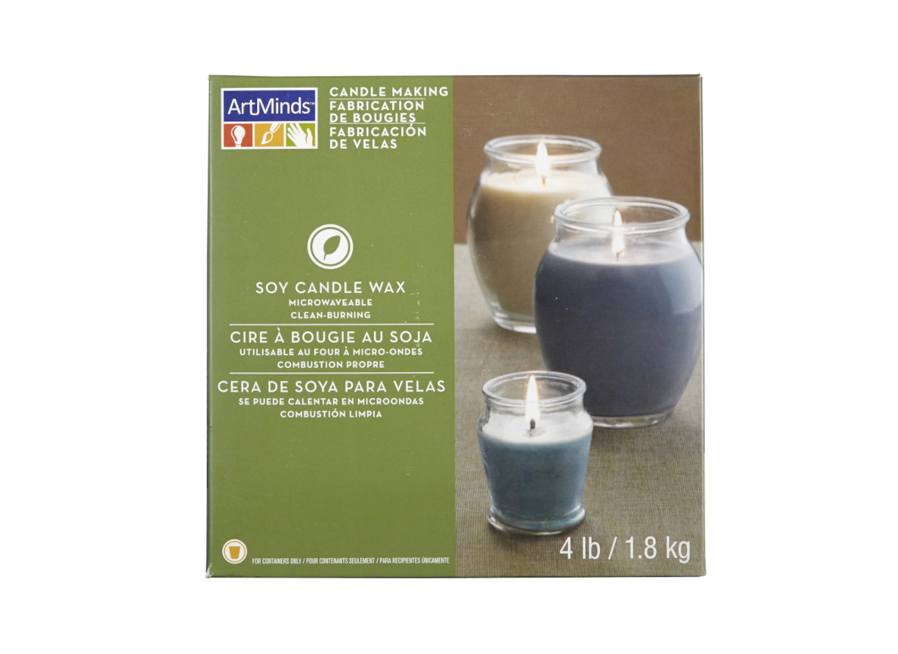 ArtMinds Candle Making Soy Wax