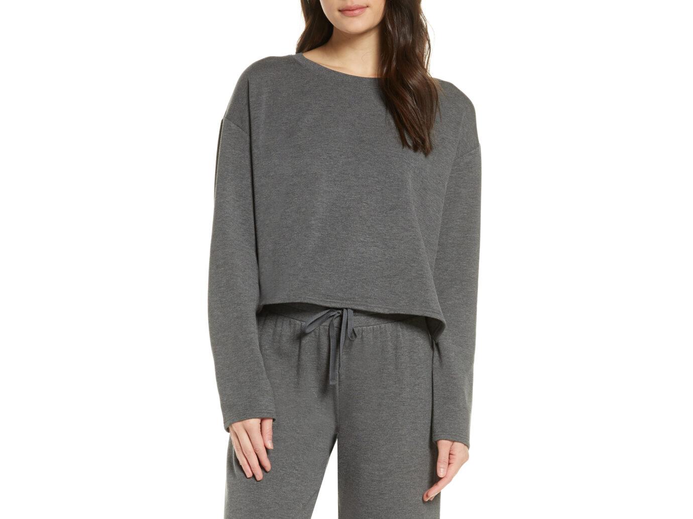 BP. All Weekend Crop Sweatshirt