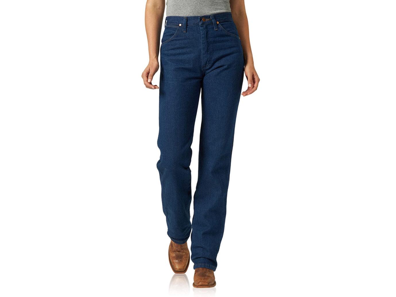 Wrangler Women's Cowboy Cut Slim Fit Natural Waist Jean