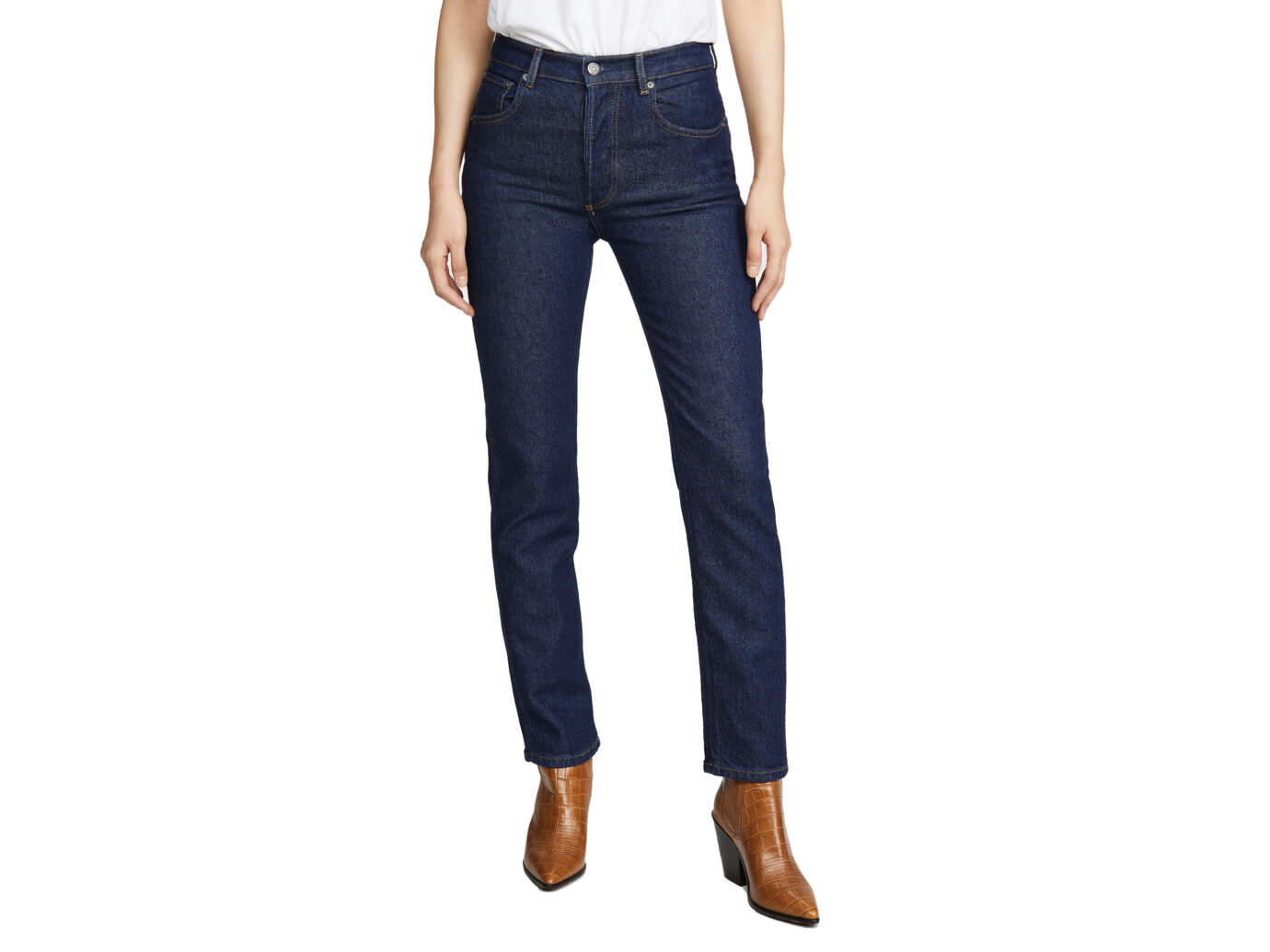 Boyish The Dempsey High-Rise Straight Leg Jeans