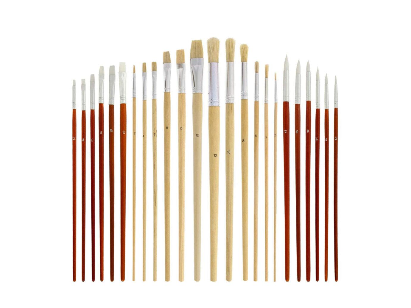 US Art Supply Brush Set