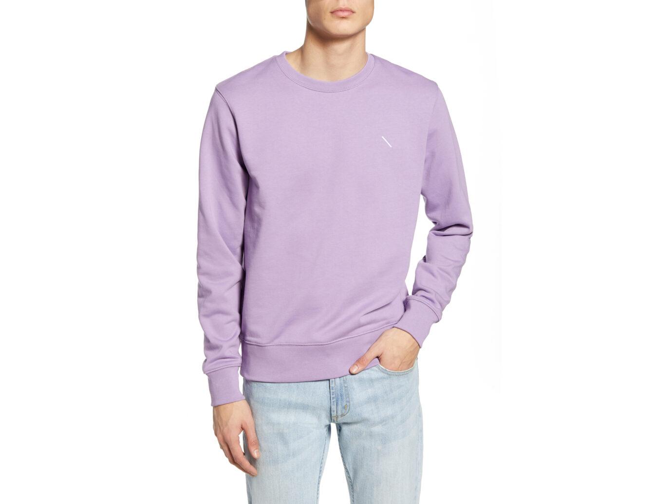 Saturdays NYC Bowery Slash Crewneck Sweatshirt
