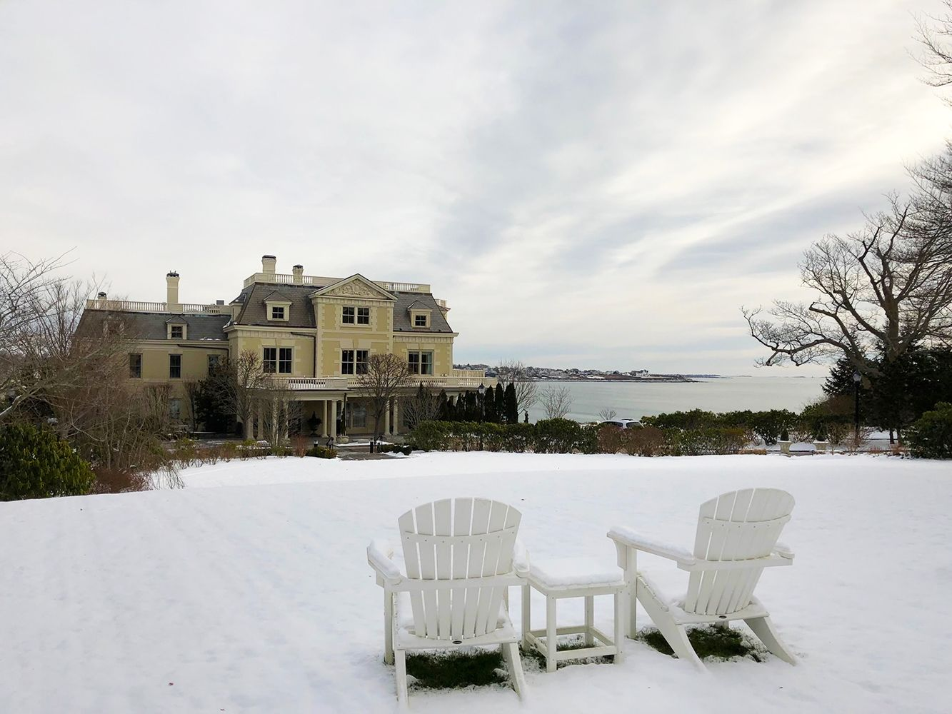 Exterior of The Chanler at Cliff Walk