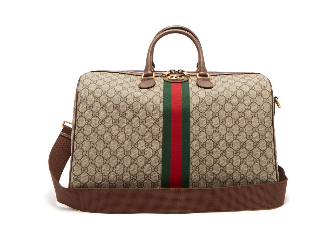 Gucci Ophidia GG Supreme logo weekend bag