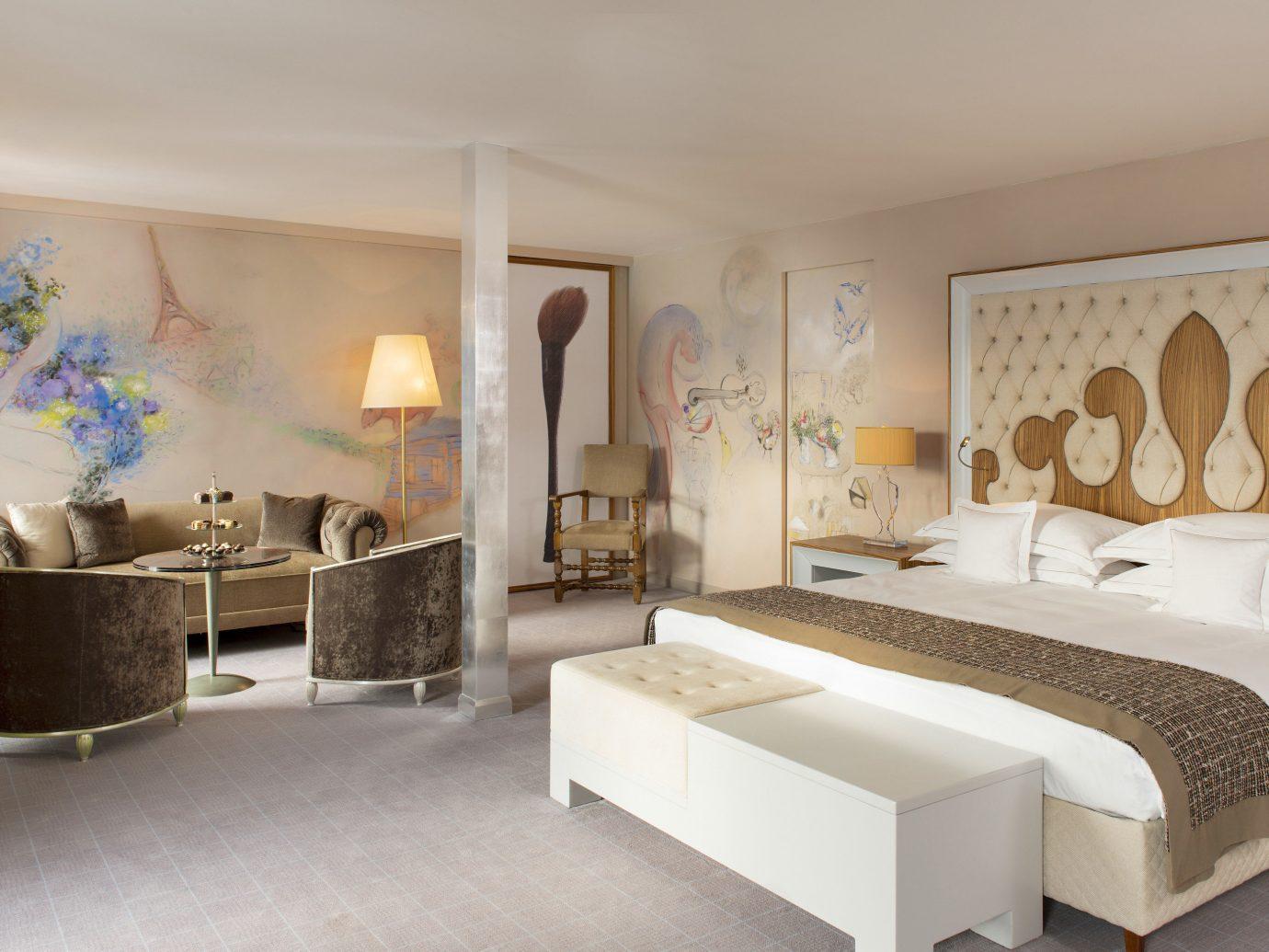 Bedroom at Carlton Hotel St. Moritz