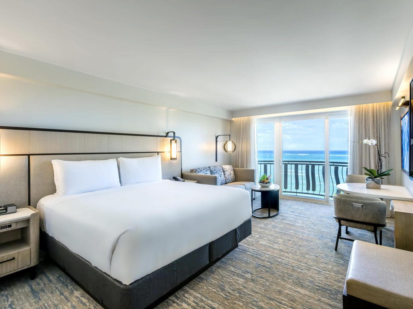 Bedroom at Intercontinental San Juan