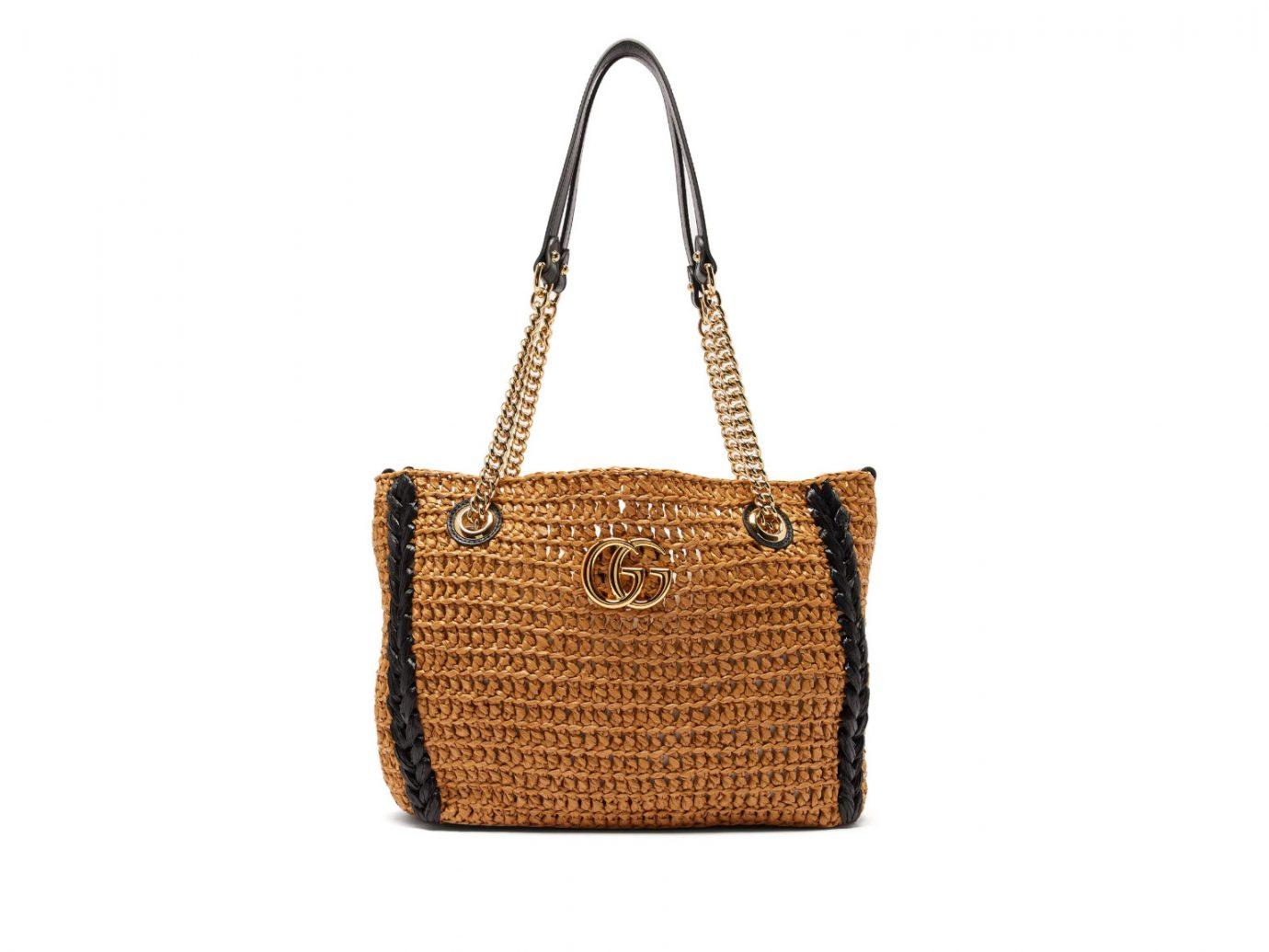 Gucci GG Marmont Woven Shoulder Bag