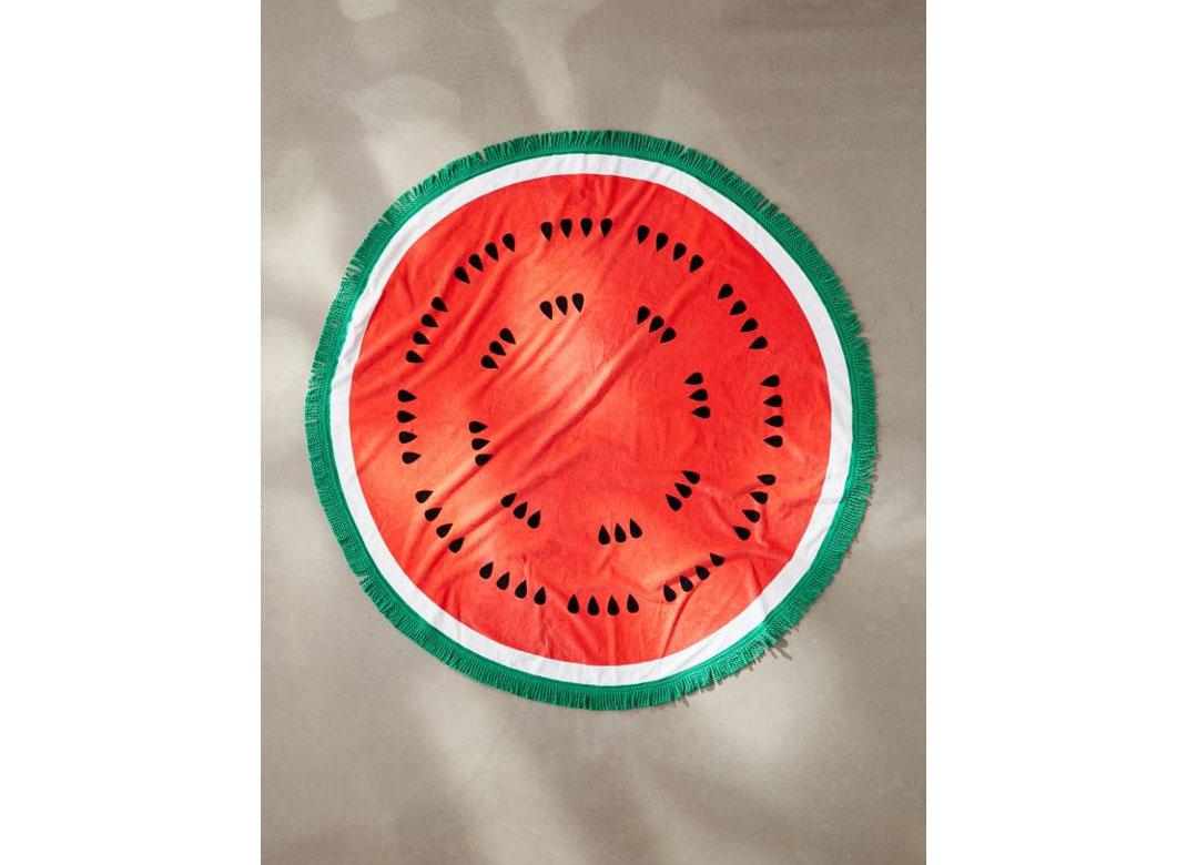 ban.do Round Watermelon Beach Towel