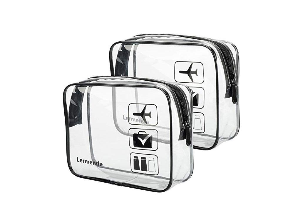 Lermende Clear Toiletry Bag