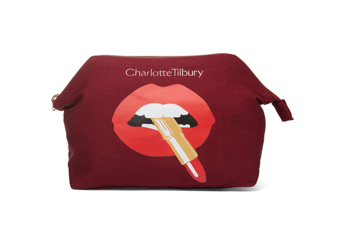 Charlotte Tilbury Hot Lips Cosmetics Case