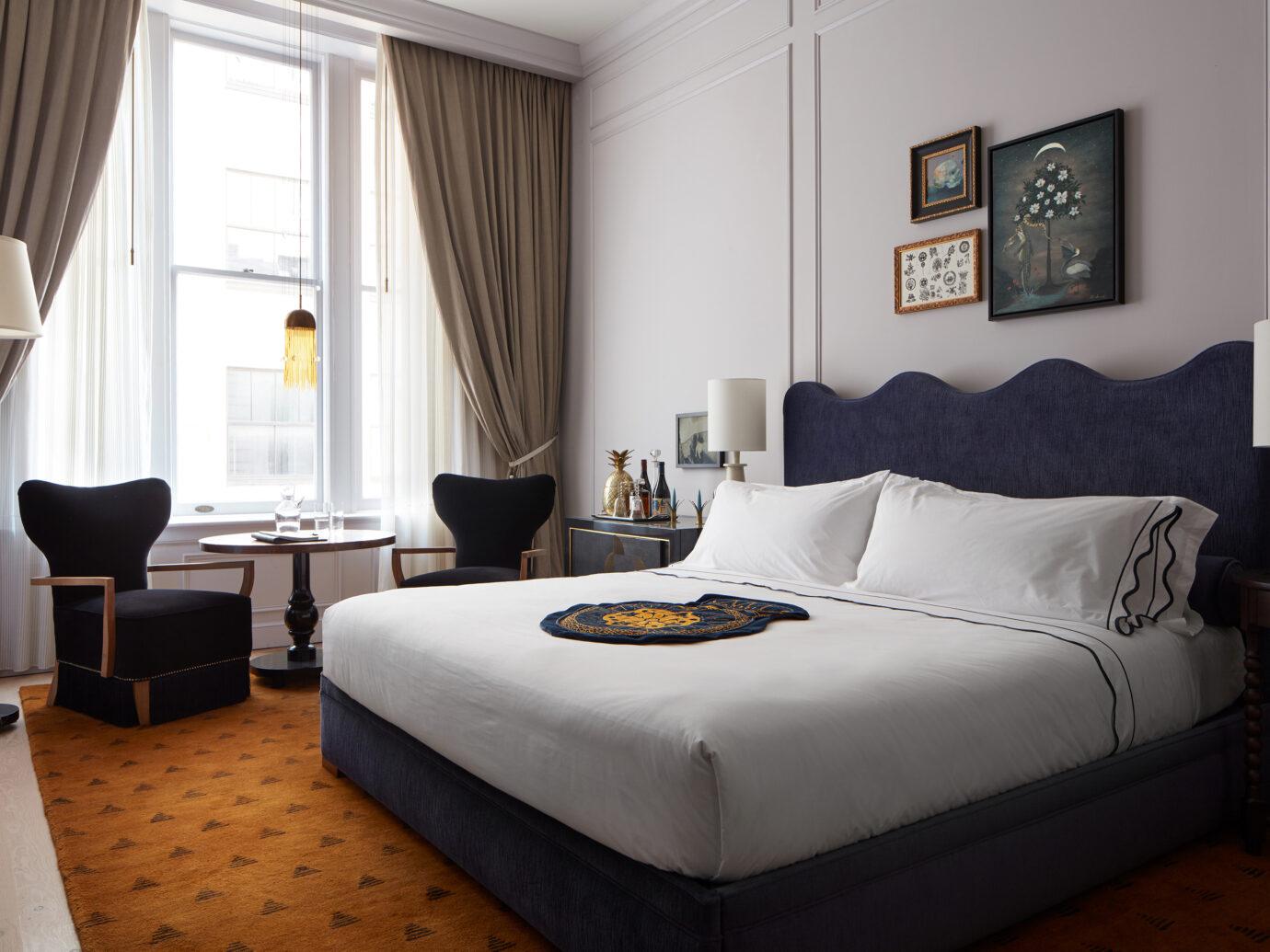 Guest room at Maison de la Luz
