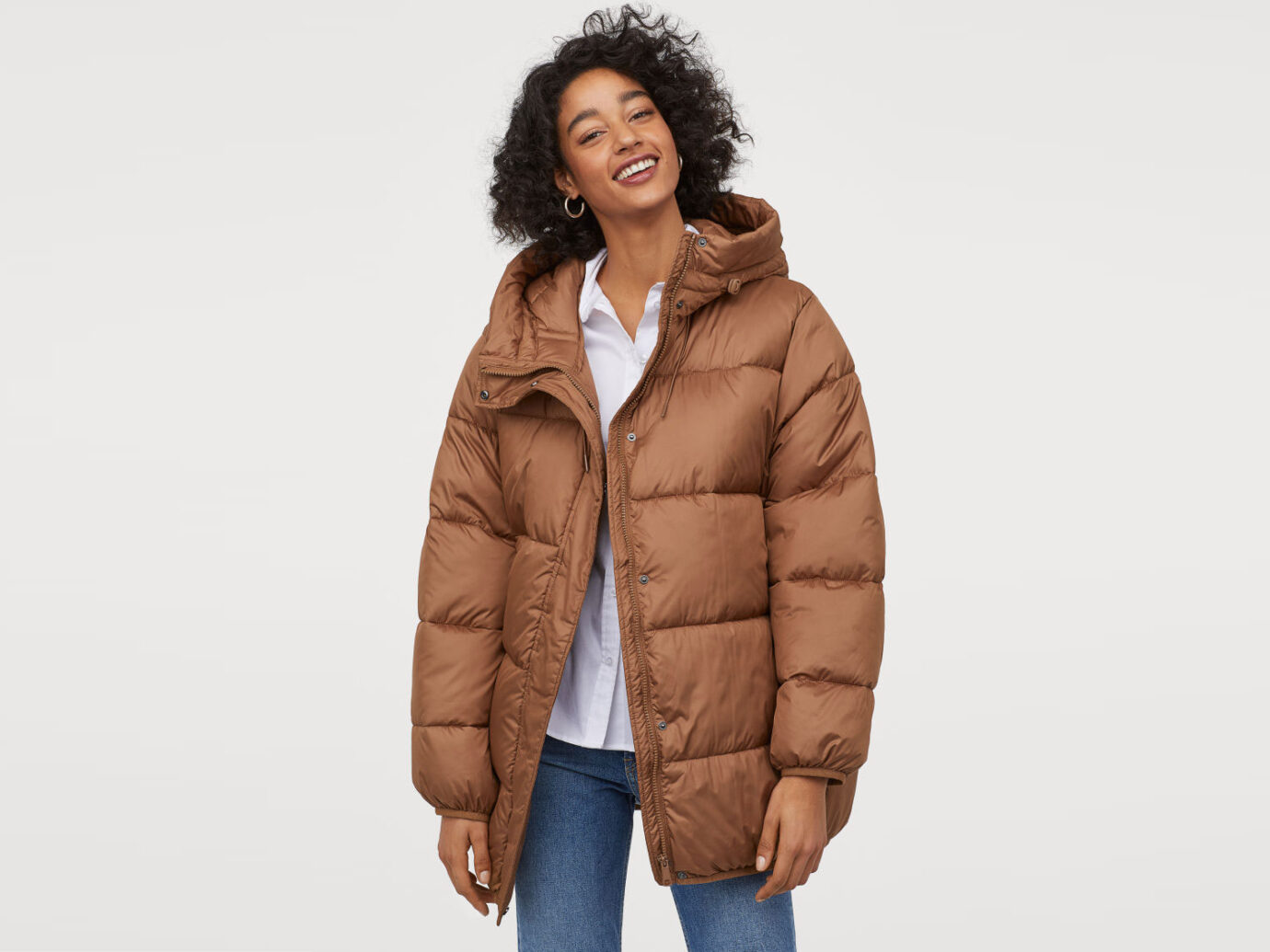 H&M Padded Hooded Jacket