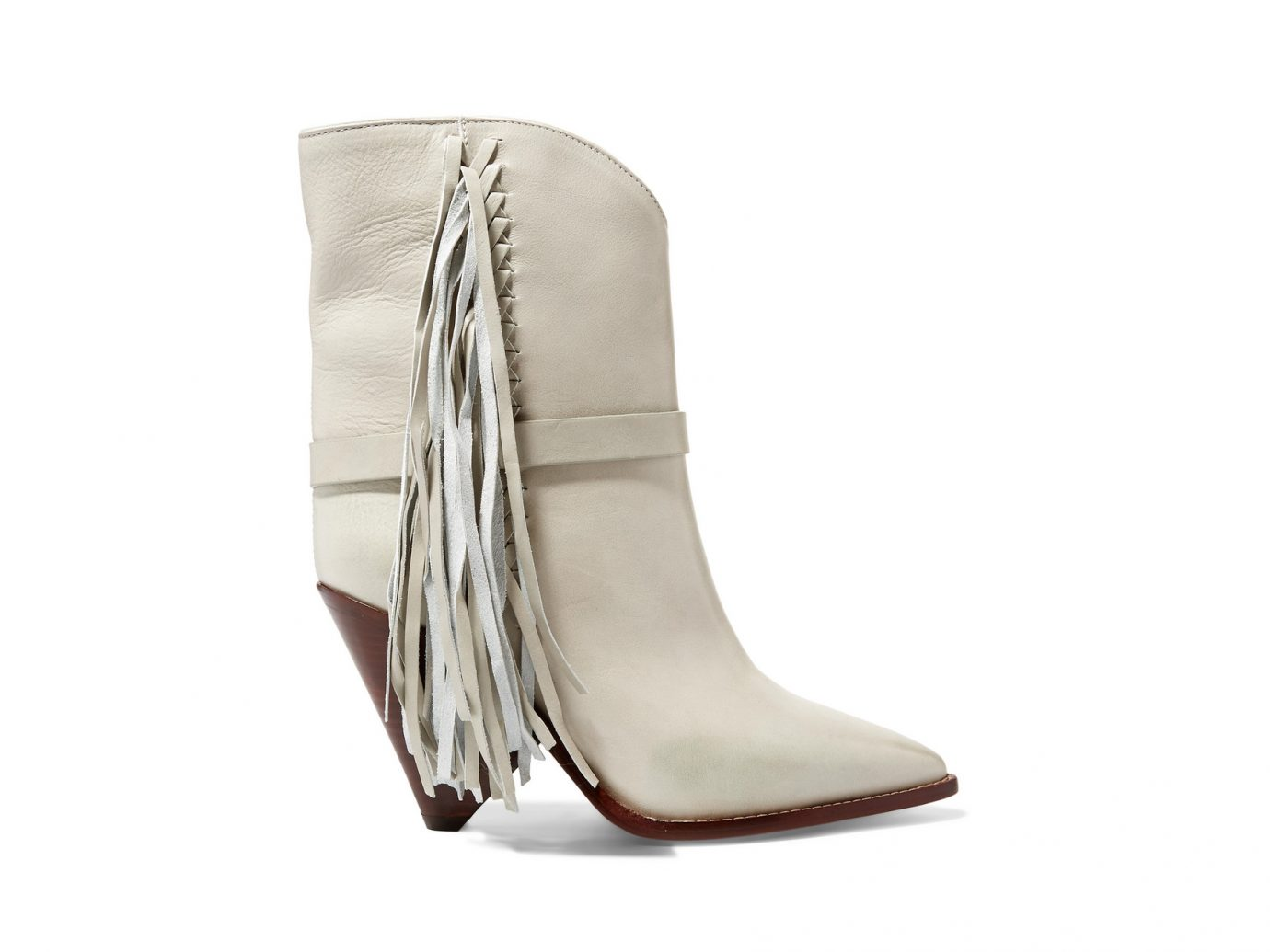 Isabel Marant Loffen fringed leather ankle