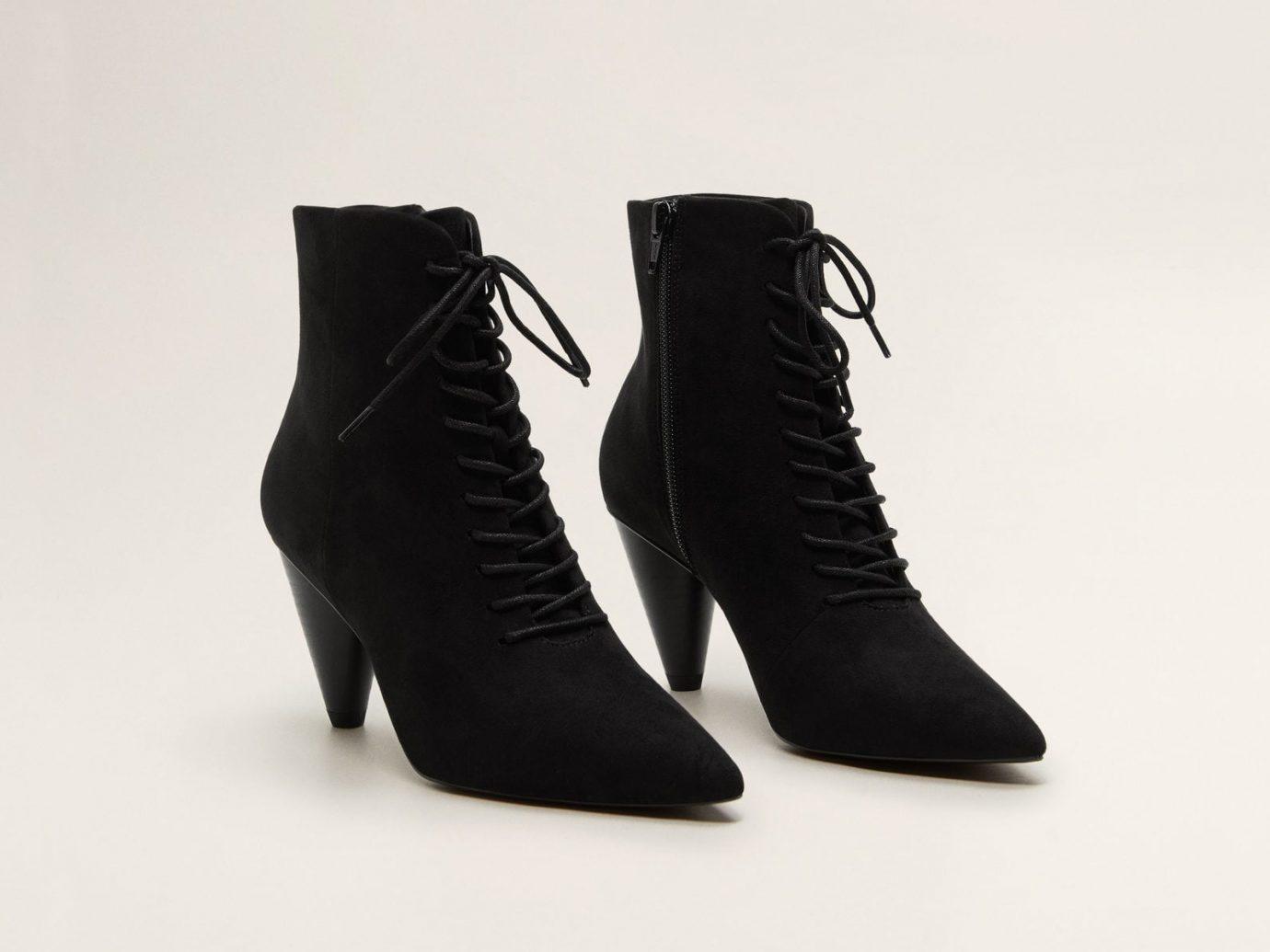 Mango Heel Lace-up boots