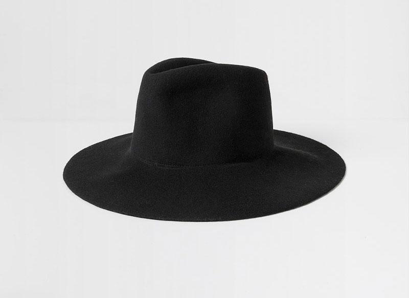 Clyde Wide Brim Pinch Hat