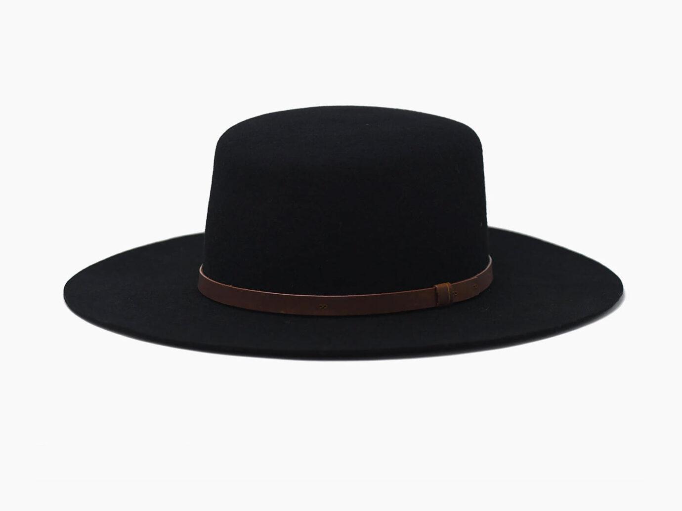 Wyeth Wool Kennedy Boater Hat