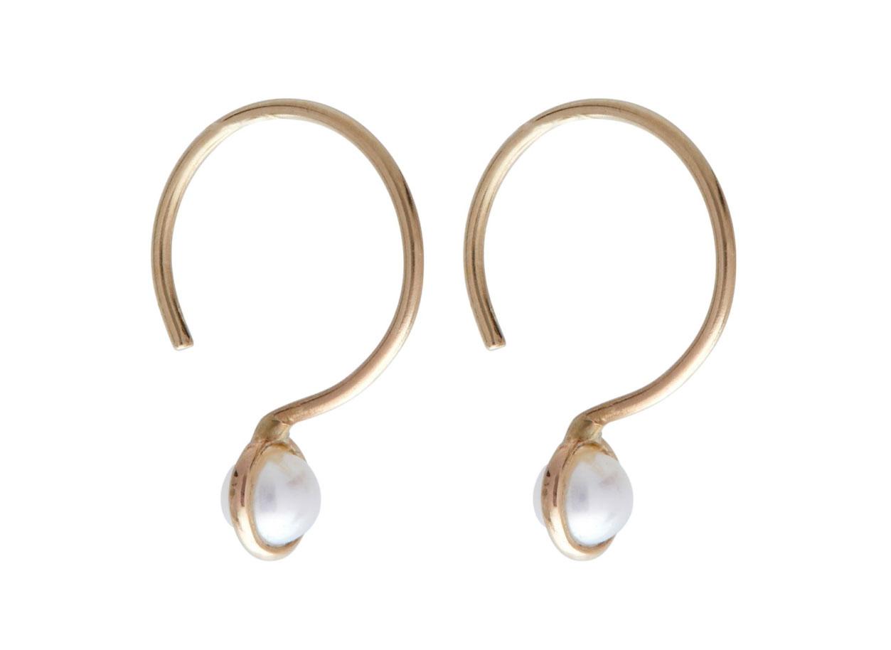 Catbird Moon Drop Earrings