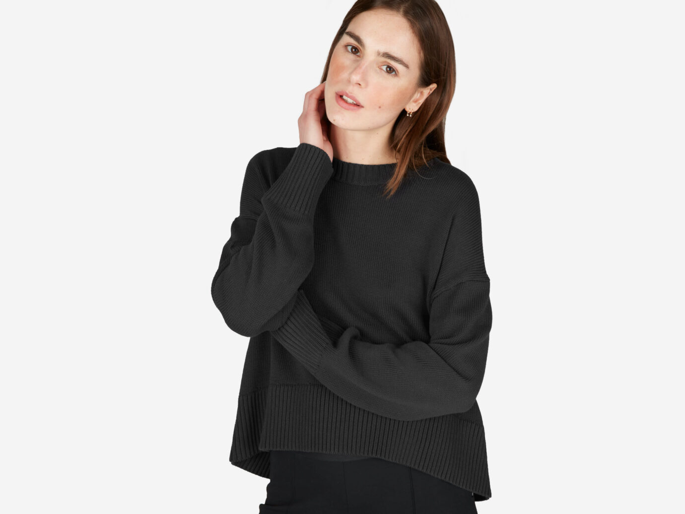 Everlane The Soft Cotton Square Crew