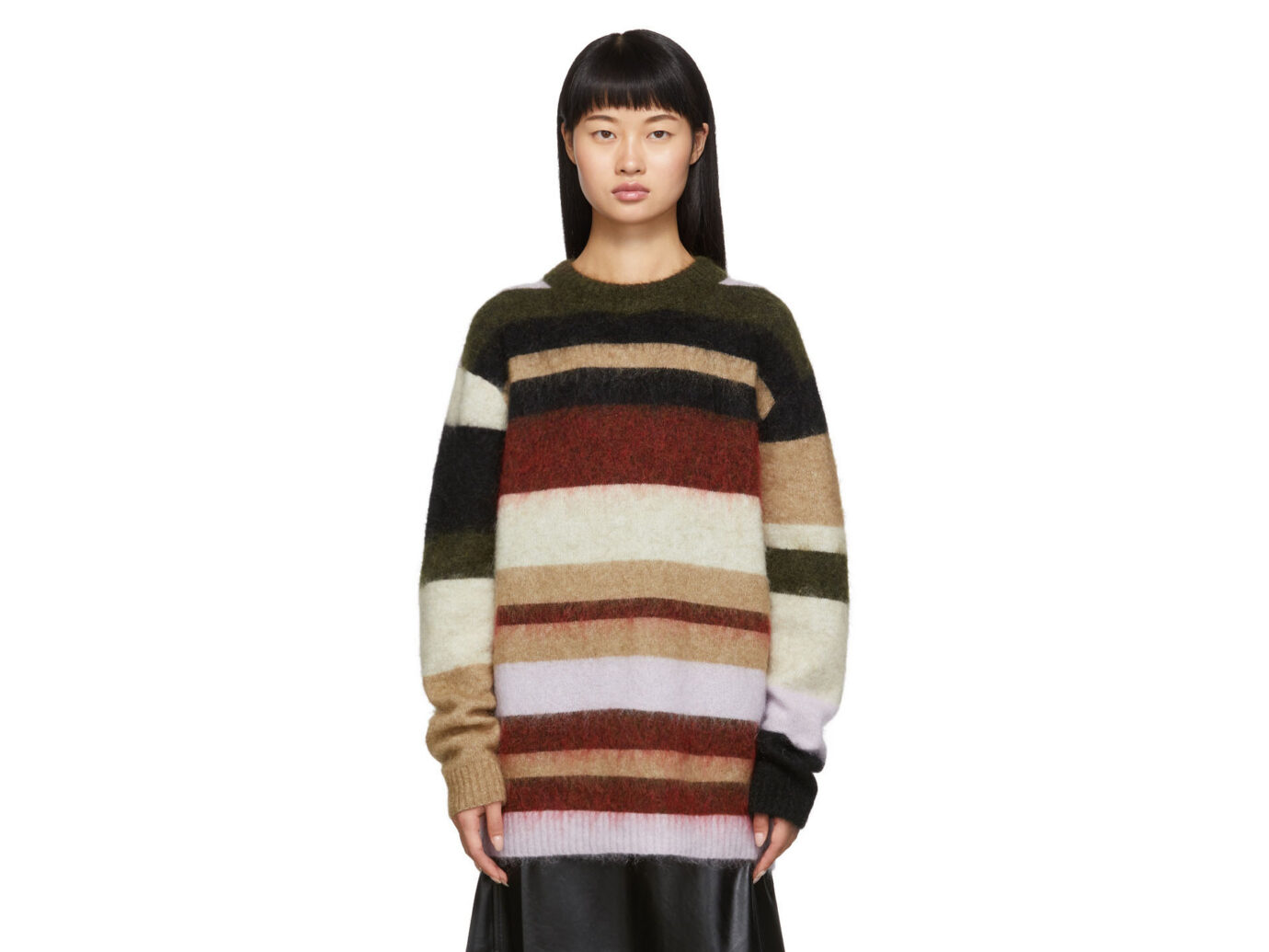 Acne Studios Green & Red Kalbah Sweater