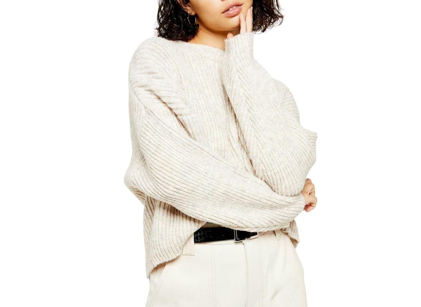 Topshop Crewneck Sweater