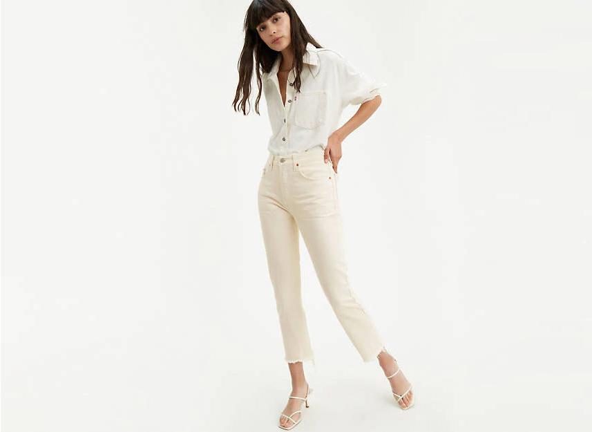 Levis 501 Original Cropped Jeans