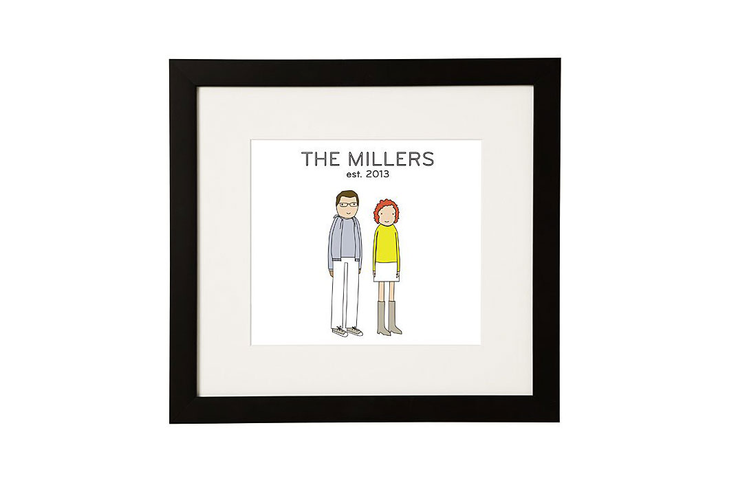 Personalized Couple Print