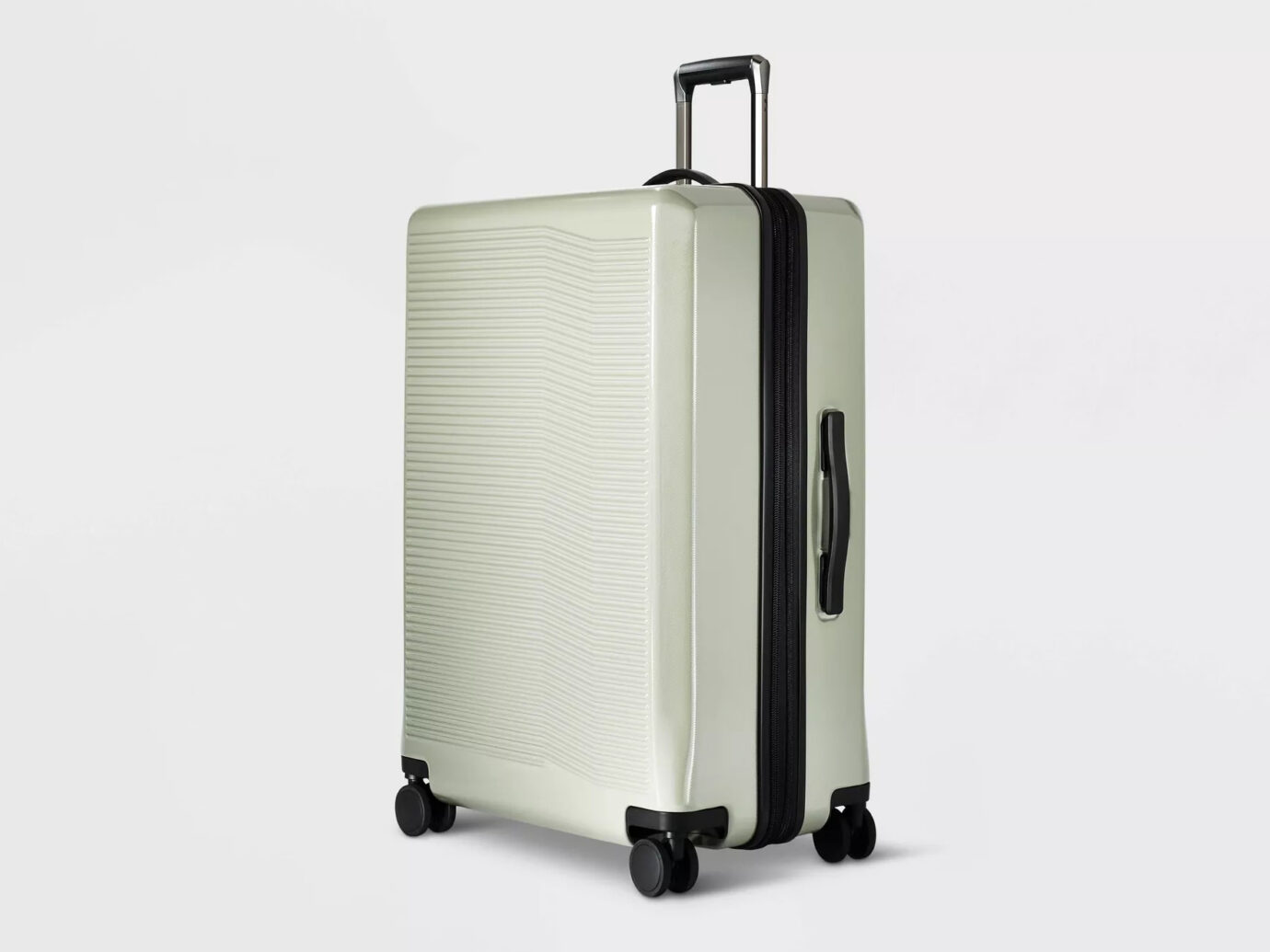 Target Open Story Hardside 29-Inch Checked Suitcase