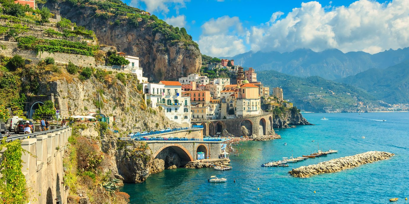 Giveaway Offbeat Trip Ideas mountain water outdoor landform geographical feature Sea Town Nature Coast vacation tourism cliff bay terrain cape travel Village hillside