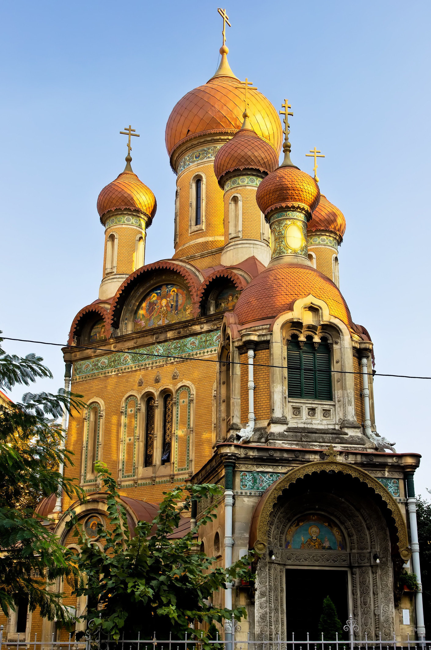 Trip Ideas sky outdoor building landmark place of worship byzantine architecture Church dome bell tower cathedral facade monastery basilica tower spanish missions in california synagogue old stone