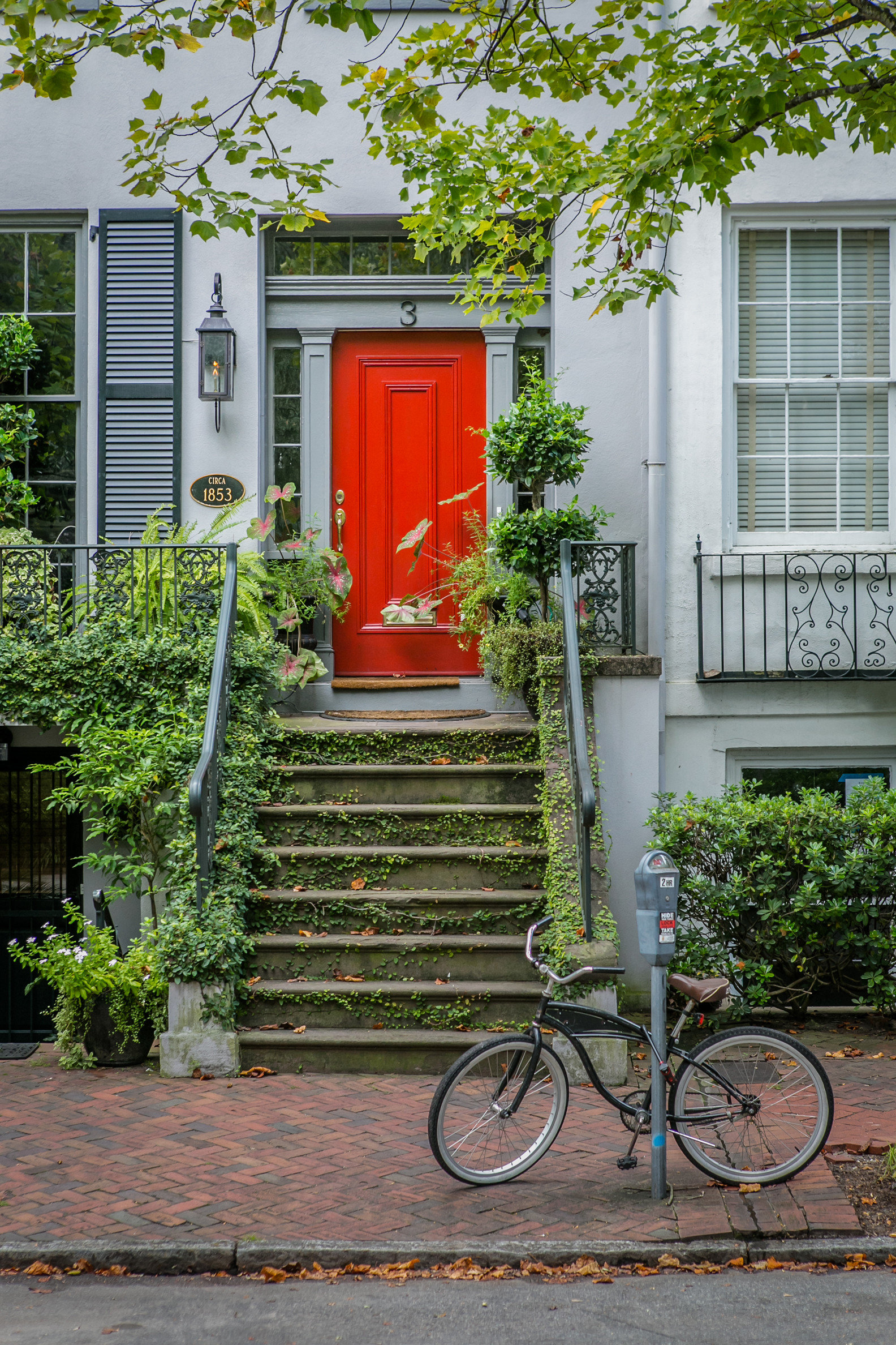 Trip Ideas outdoor bicycle building tree sidewalk residential area neighbourhood yard home parked vehicle porch backyard Garden flower suburb outdoor structure shed cottage scooter