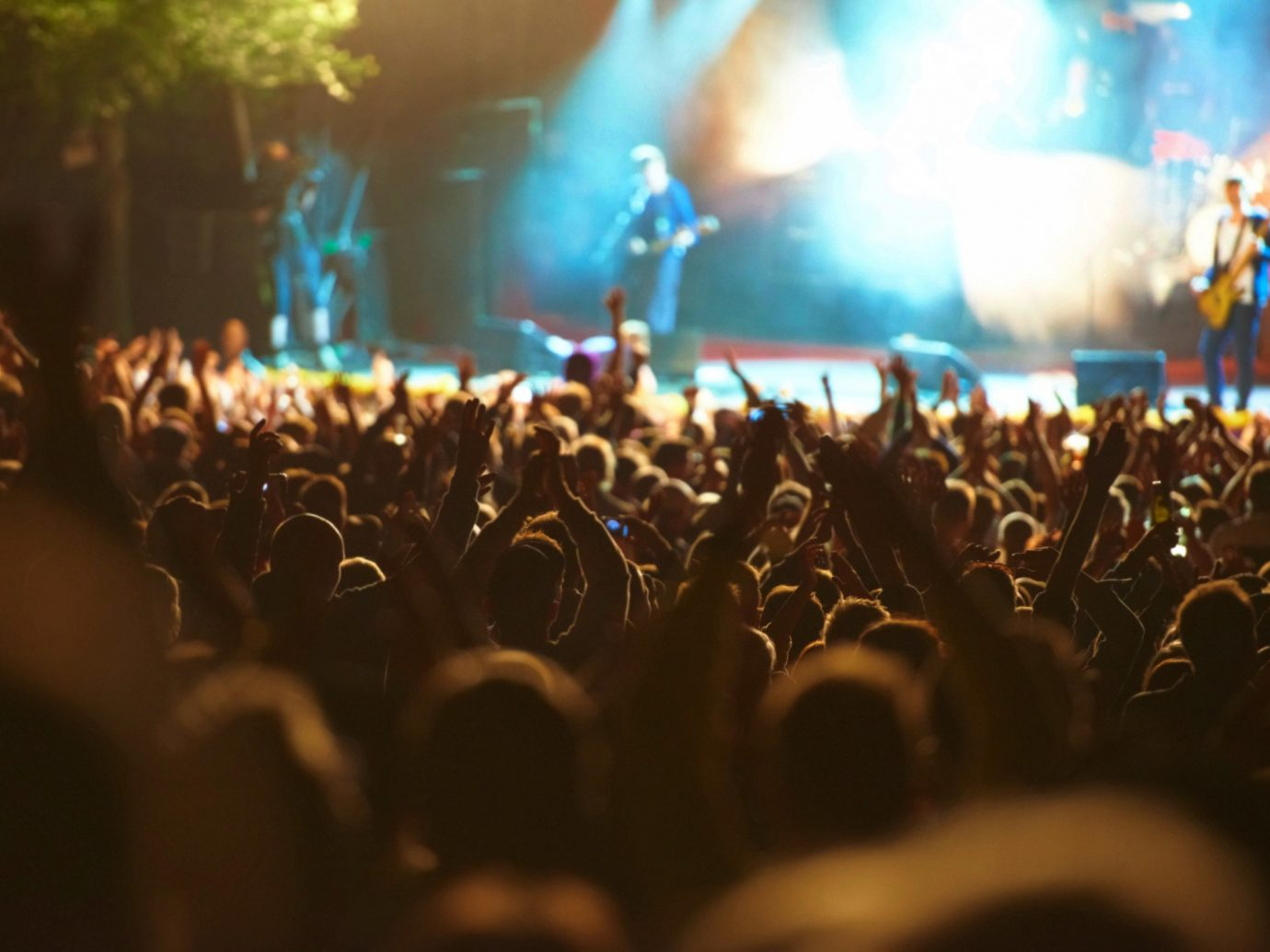 Trip Ideas crowd performance rock concert light people concert person performing arts audience watching Entertainment stage Music event festival musical theatre dark
