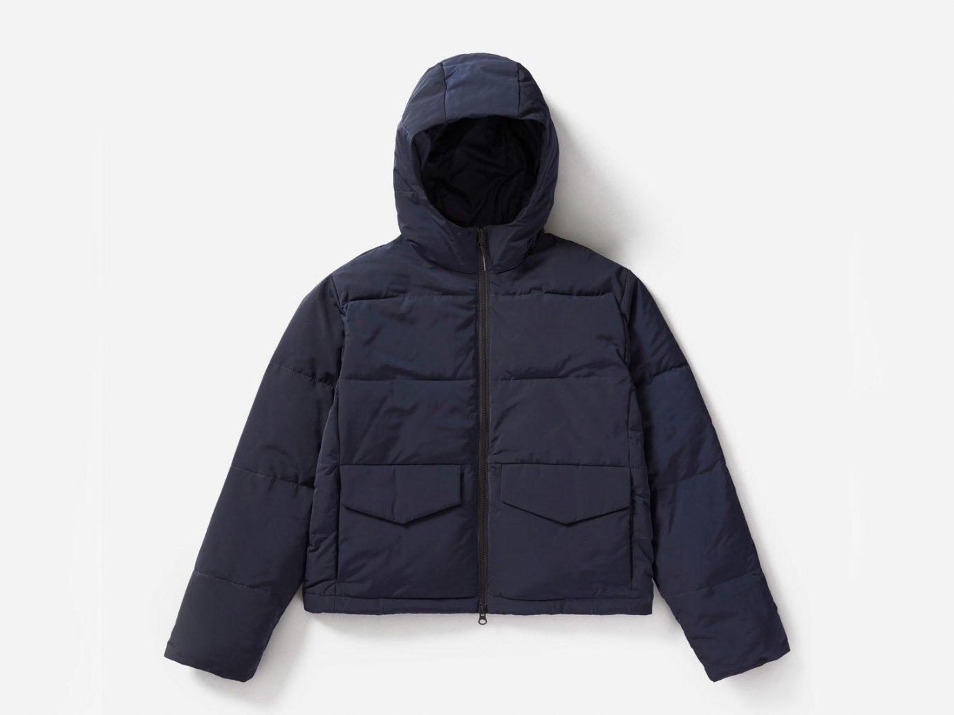 City NYC Style + Design Travel Shop hood jacket clothing product outerwear hoodie sweatshirt product design electric blue polar fleece