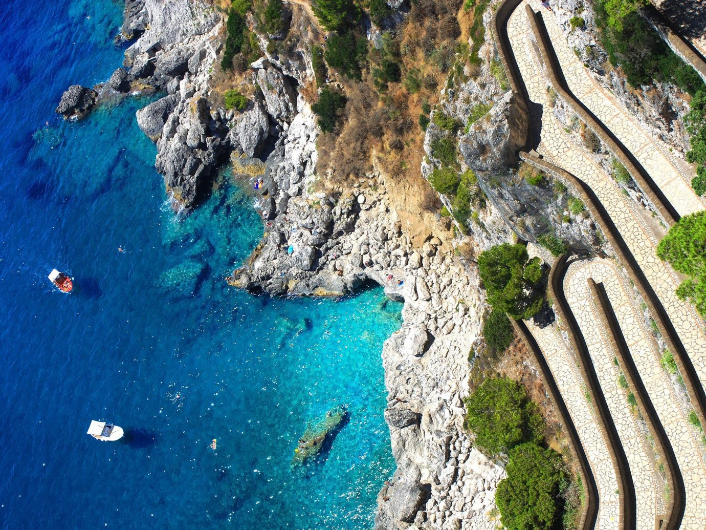 Trip Ideas aerial photography water Sea Coast Nature terrain cliff