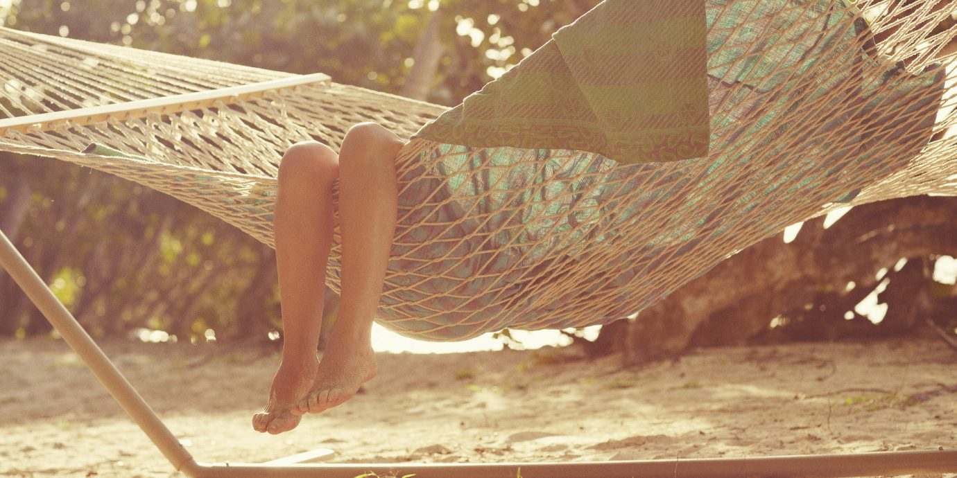Travel Tips ground hammock sunlight wood wing sand