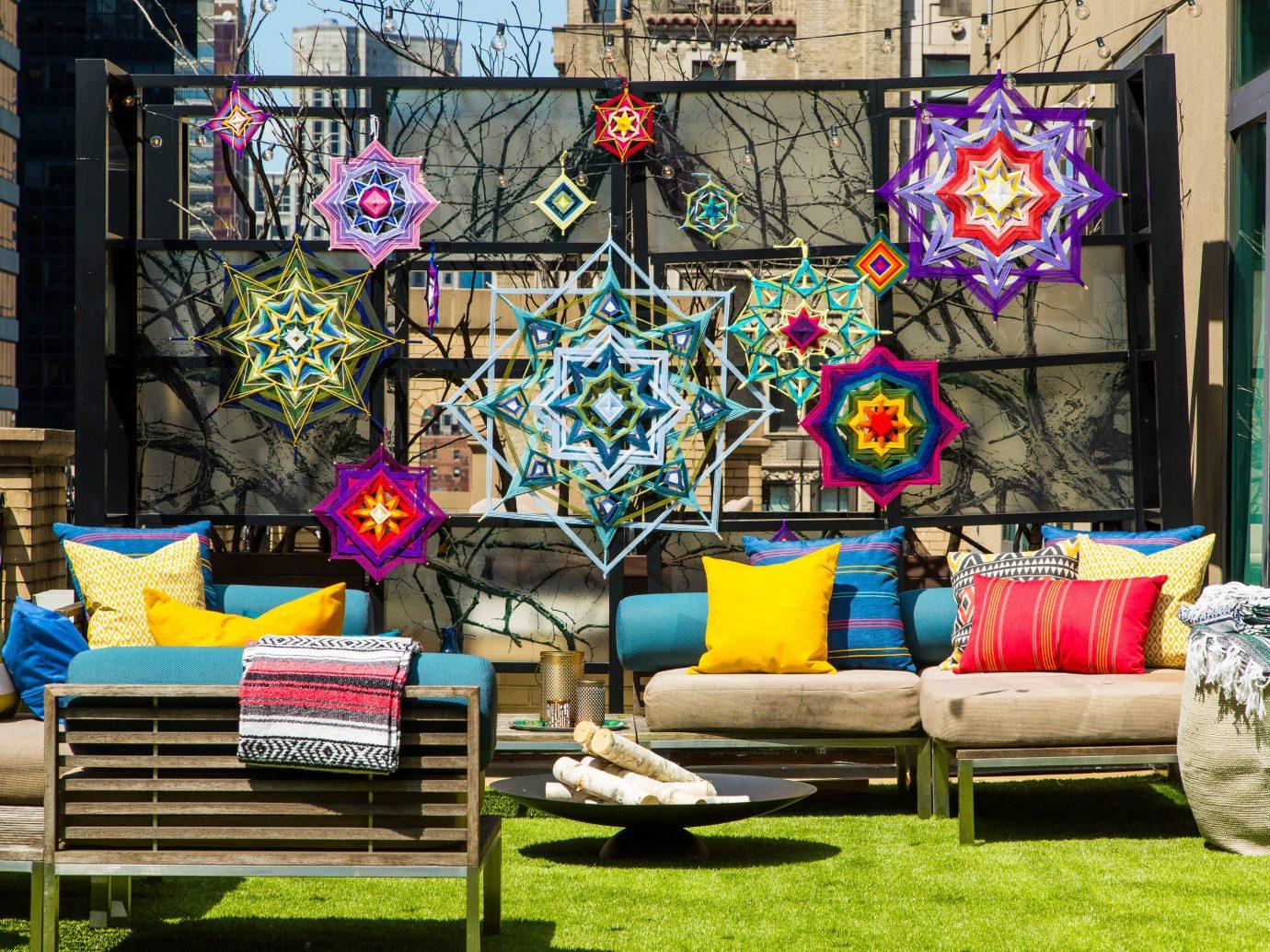 Arts + Culture grass color outdoor art home interior design window living room colorful