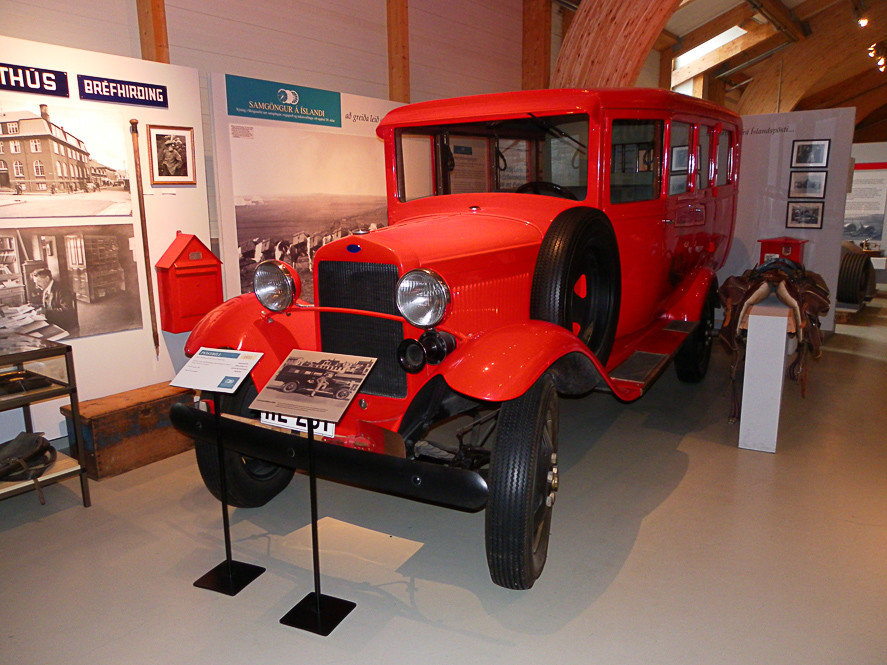 Iceland Outdoors + Adventure Road Trips floor indoor motor vehicle car vehicle antique car vintage car Classic automotive design red automotive exterior mid size car