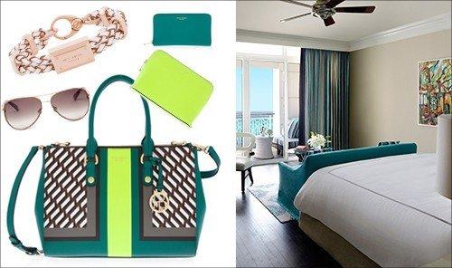 Style + Design indoor floor room product green interior design Design brand furniture decorated colored