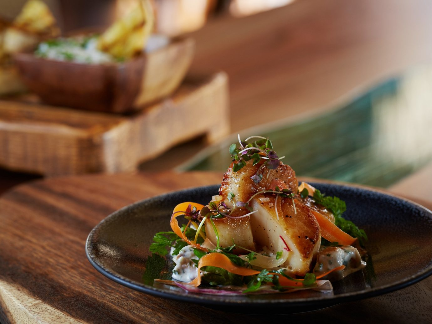 Trip Ideas table food plate indoor dish meal cuisine Seafood recipe brunch appetizer