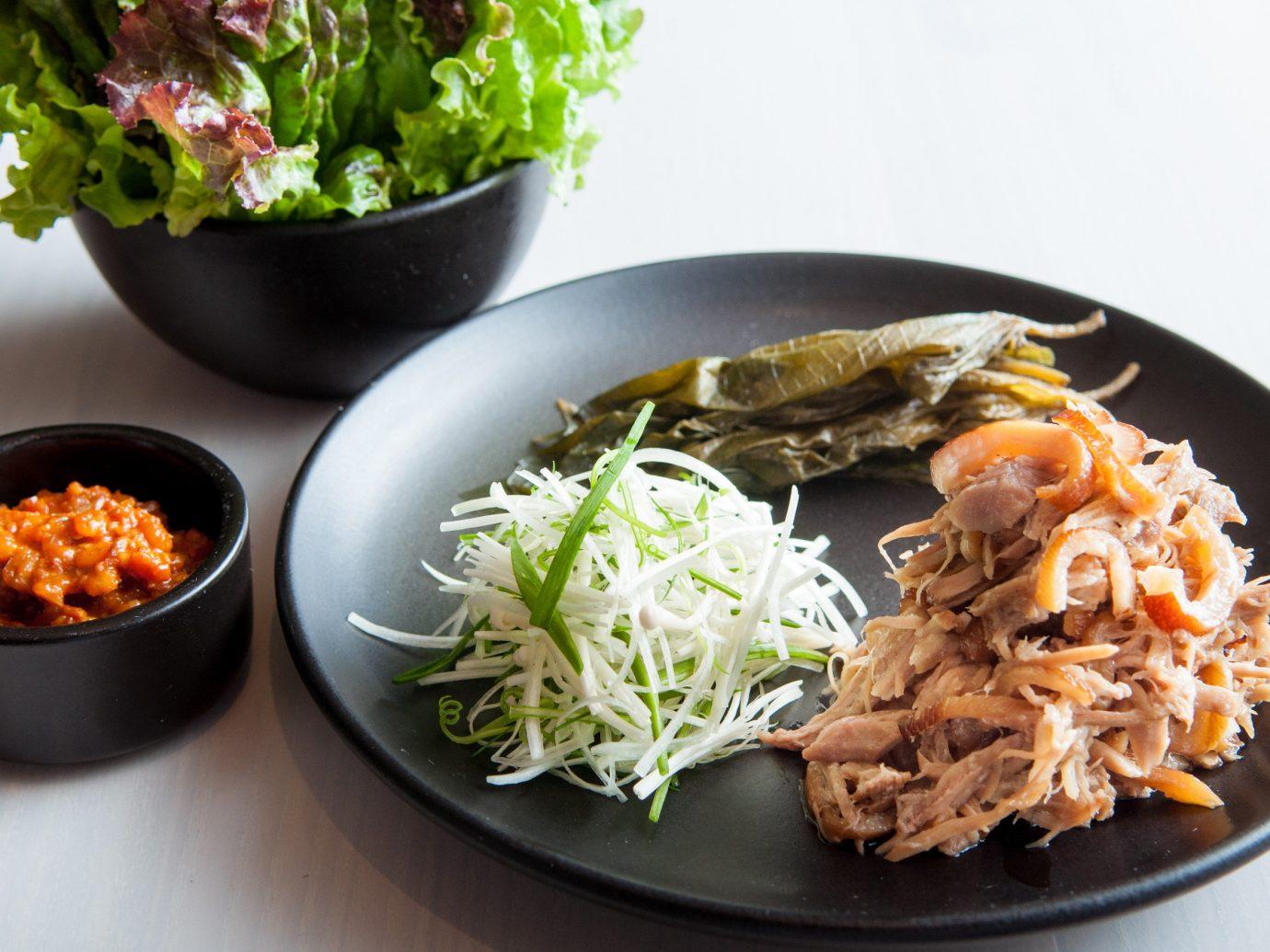 Food + Drink Travel Tips food plate dish cuisine meal bowl lunch vegetarian food asian food thai food recipe vegetable side dish korean food chinese food namul meat saute