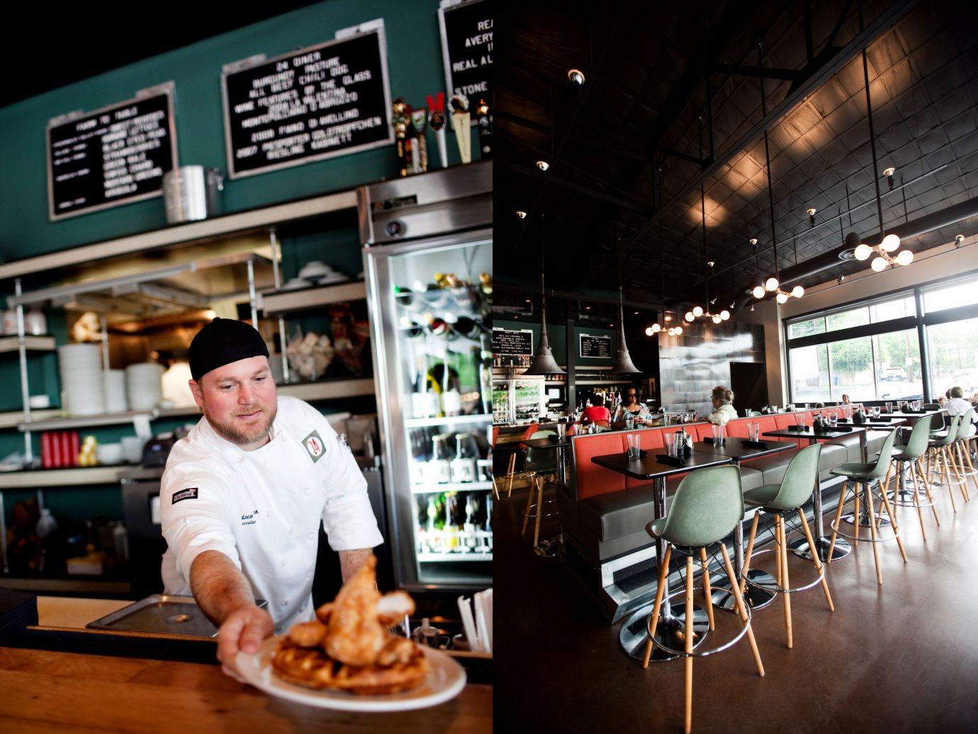 Food + Drink person indoor meal restaurant Bar sense food dish
