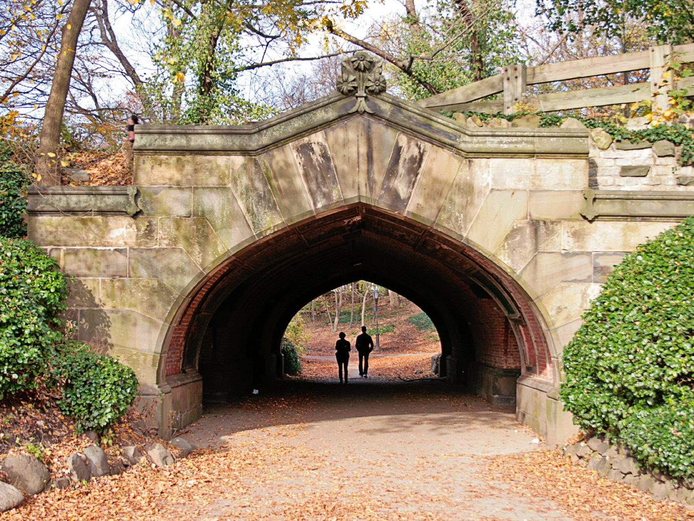 Bridge in Prospect Park, Brooklyn
