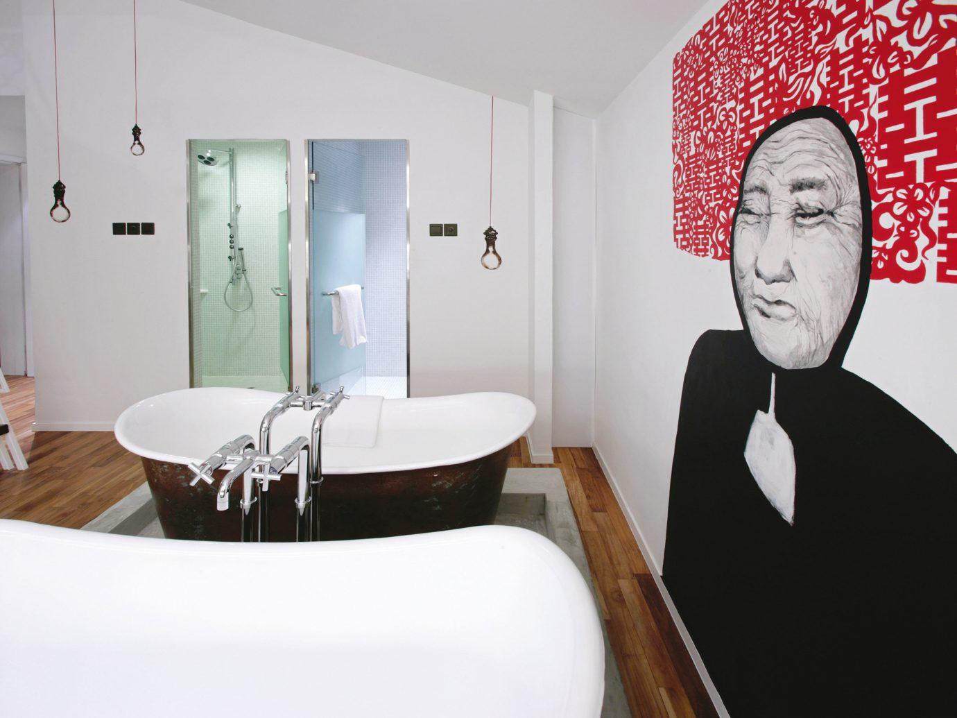 Bath Hotels Luxury Modern wall indoor person room interior design Design